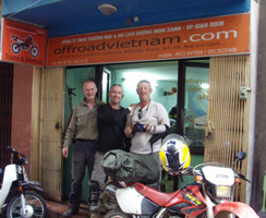 Offroad Vietnam motorcycle adventure office