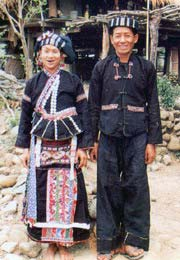 Lu people, Nhuon and Duon minority, Lu ethnie, montagnard