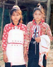 Mang people, Mang U and Xa La Vang minority, Mang ethnie, montagnard