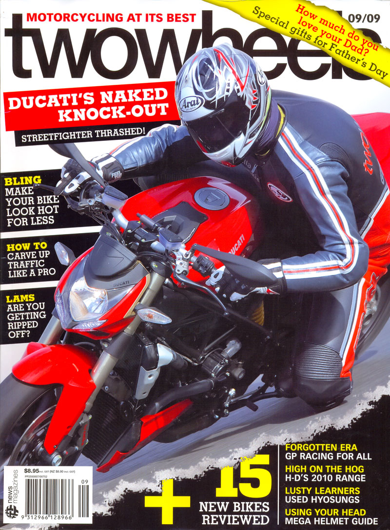 twowheels magazine 09/09 cover issue