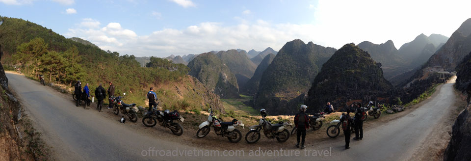 Offroad Vietnam Motorbike Adventures - Vietnam Motorcycle Tours, Vietnam motorbike tours, adventures and rentals. All motorbike tours start from Hanoi. This photo was taken on the road to Ha Giang and Northeast Vietnam.