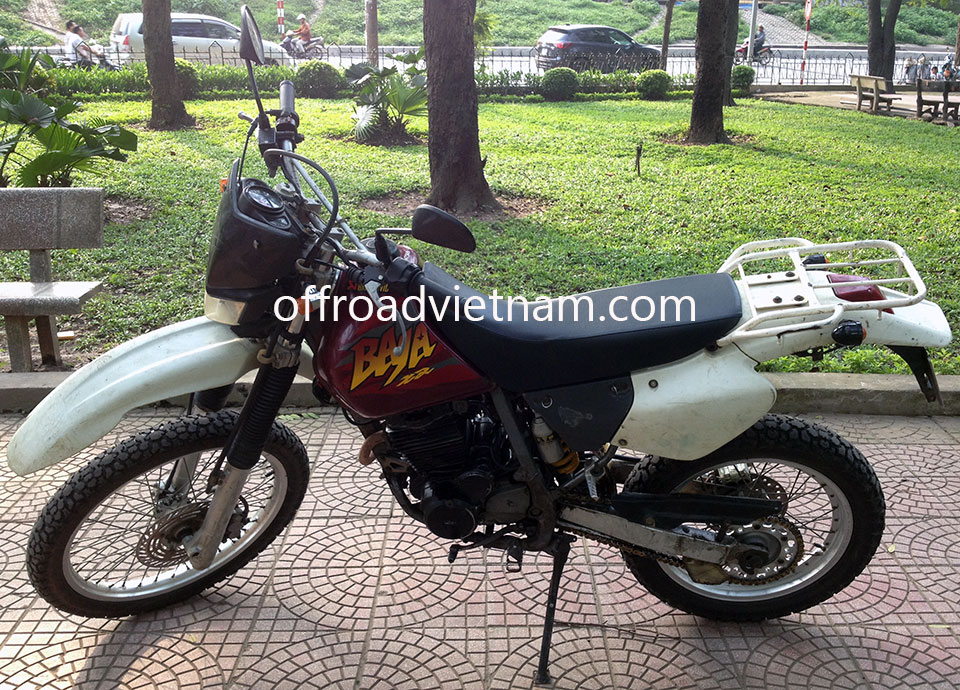 Offroad Vietnam Motorbike Sale - 1998 Honda XR250 Baja Enduro For Sale In Hanoi, Vietnam. Silver, Red, Black or White with disc brakes