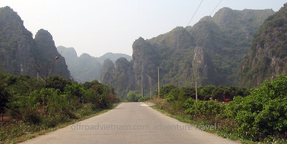 Halong Bay Motorbike Cruise In 3 Days. Biking