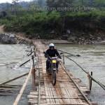 Bamboo bridge bike tour with Offroad Vietnam motorbike tours