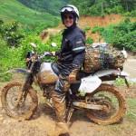 Honda XR250 Baja on a Vietnam dirt bike tour